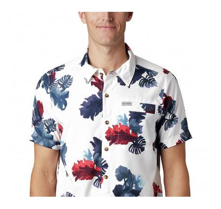 Columbia Men's Outdoor Elements Short Sleeve Print Shirt