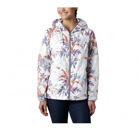 Columbia Women's Side Hill Printed Windbreaker